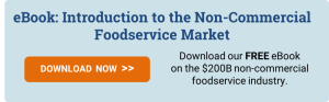 FREE eBook: Introduction to the Non-Commercial Foodservice Market