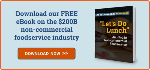 Download our FREE eBook on the $200B non-commercial foodservice industry