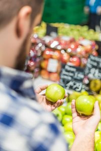 most consumers would still prefer to pick out their own produce in grocery stores