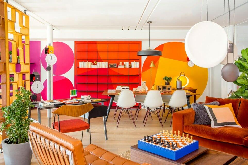 Picture to show British home furnishings store, Habitat